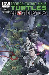 Teenage Mutant Ninja Turtles Ghostbusters #1 (of 4)