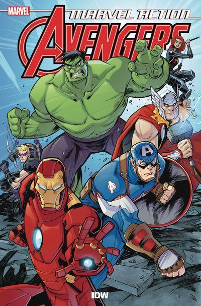 DEC180702 ComicList Previews: MARVEL ACTION AVENGERS VOLUME 1 THE NEW DANGER TP
