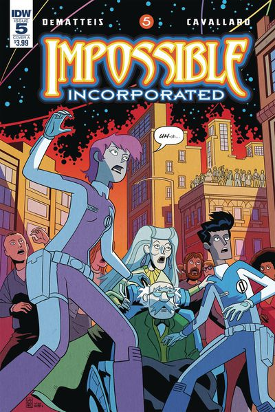 DEC180735 ComicList Previews: IMPOSSIBLE INCORPORATED #5