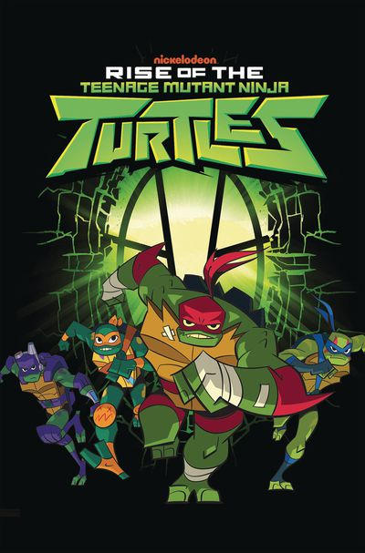 DEC180736 ComicList Previews: RISE OF THE TEENAGE MUTANT NINJA TURTLES VOLUME 1 TP