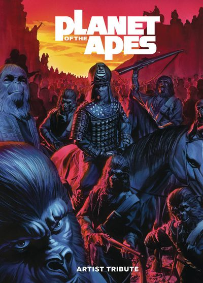 DEC181353 ComicList Previews: PLANET OF THE APES ARTIST TRIBUTE HC
