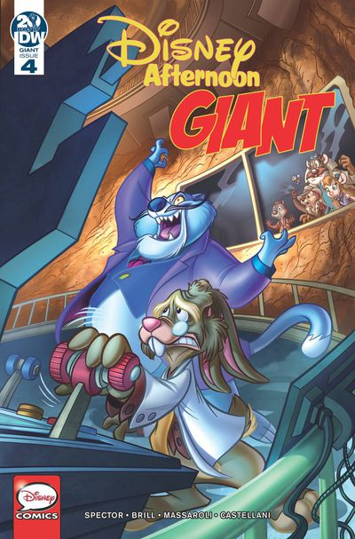 FEB190659 ComicList Previews: DISNEY AFTERNOON GIANT #4