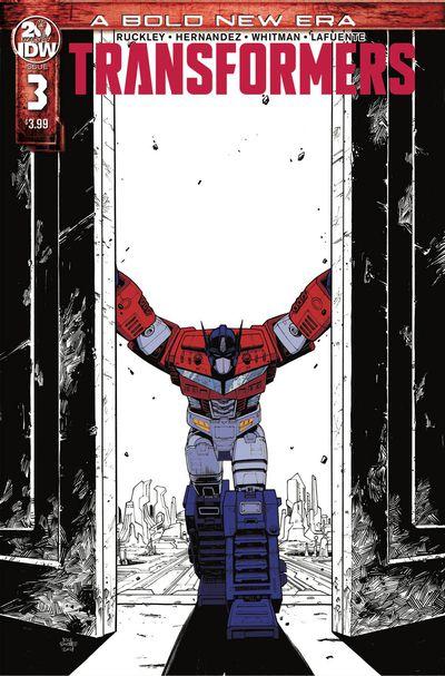 FEB190705 ComicList Previews: TRANSFORMERS #3