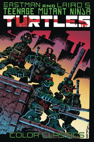 Teenage Mutant Ninja Turtles Color Classics Vol. 1 Cover