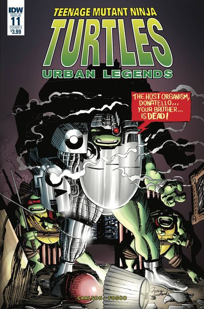 JAN190770 ComicList Previews: TEENAGE MUTANT NINJA TURTLES URBAN LEGENDS #11