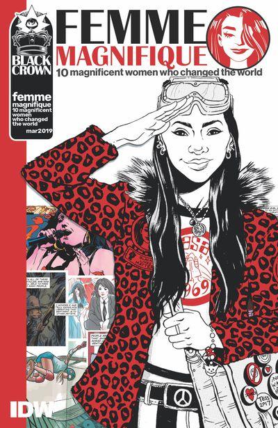 JAN190864 ComicList Previews: FEMME MAGNIFIQUE 10 MAGNIFICENT WOMEN WHO CHANGED THE WORLD TP