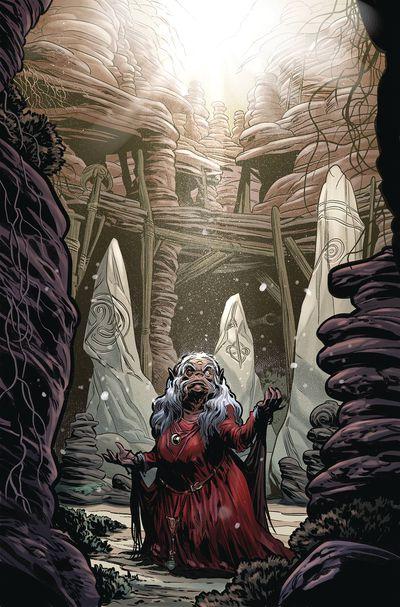 JAN191392 ComicList Previews: JIM HENSON'S BENEATH THE DARK CRYSTAL #8