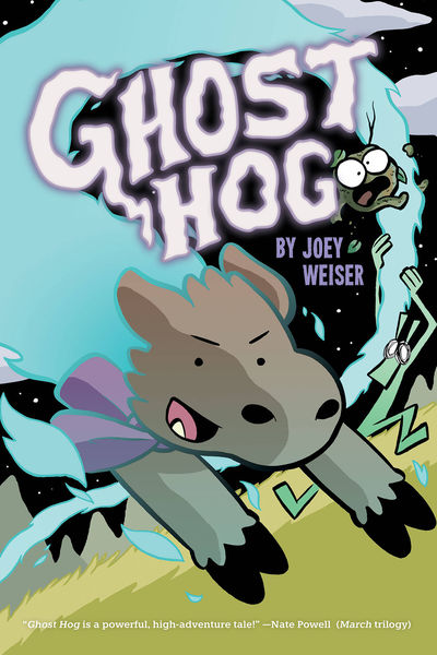 JAN192021 GHOST HOG will haunt comic shops this May
