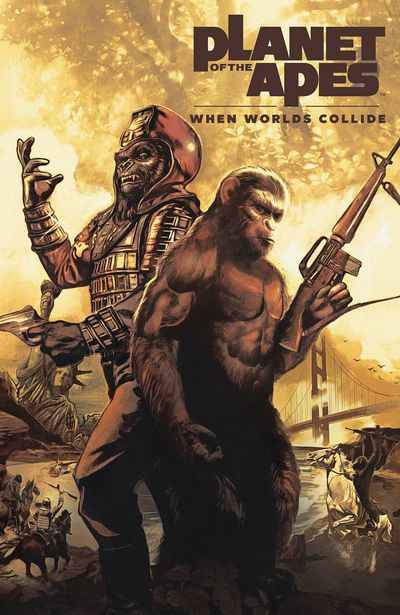 NOV181319 ComicList Previews: PLANET OF THE APES WHEN WORLDS COLLIDE SC