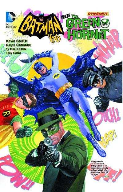 Batman '66 Meets The Green Hornet Cover