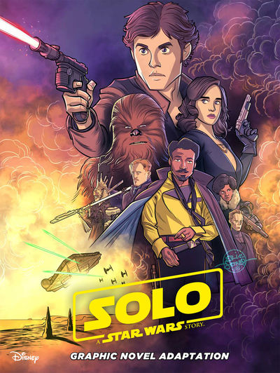 aug180696 ComicList Previews: STAR WARS SOLO GN