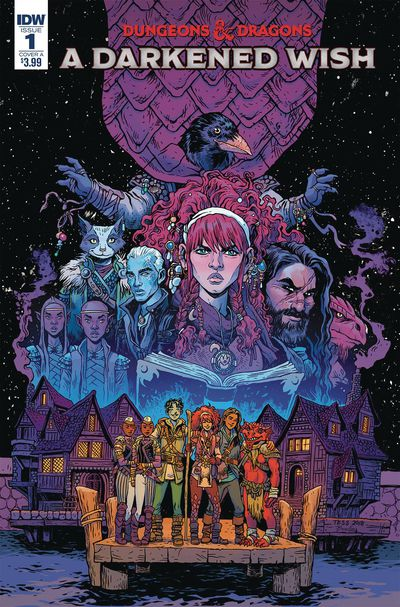 dec180772 ComicList Previews: DUNGEONS AND DRAGONS A DARKENED WISH #1