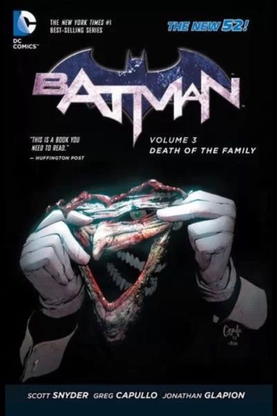 Batman Vol. 03: Death Of The Family Cover