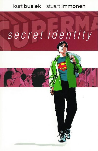 Superman Secret Identity Cover