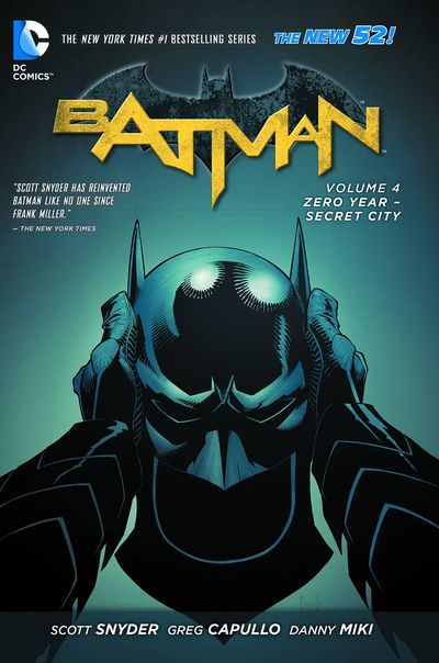 Batman Vol. 4: Zero Year Secret City Cover