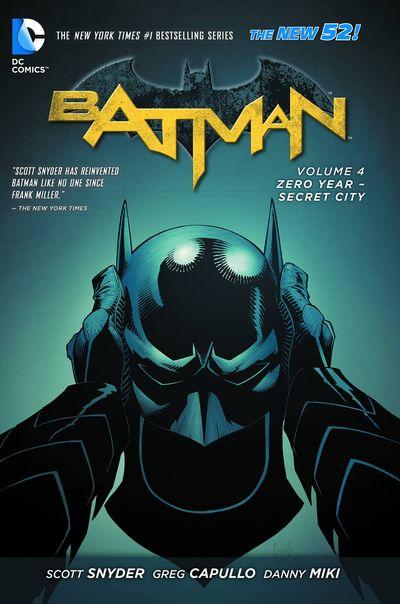 Batman Vol. 4: Zero Year Secret City Cover