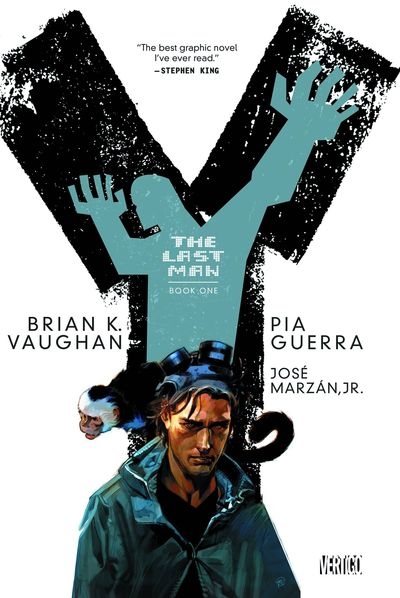 Y The Last Man Book 1 Cover