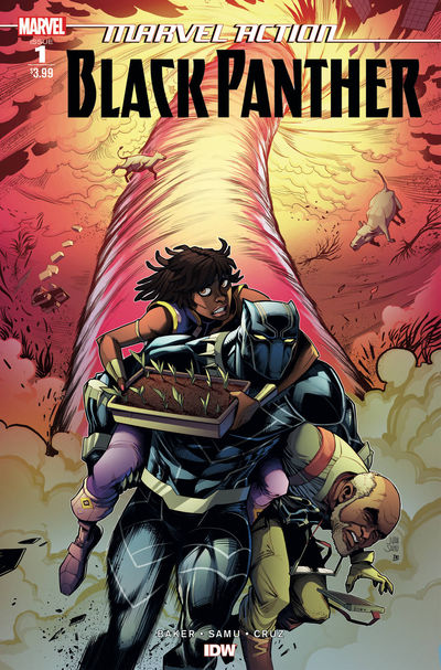 nov180605 ComicList Previews: MARVEL ACTION BLACK PANTHER #1