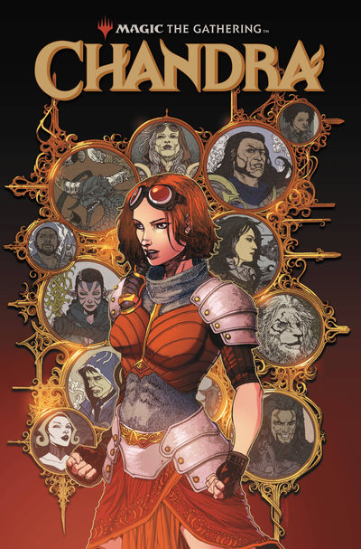 oct180694 ComicList Previews: MAGIC THE GATHERING CHANDRA #2