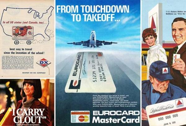 19 Vintage Credit Card Ads