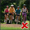 cycling - not a good exercise to help improve bone strength