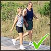 walking helps improve bone strength