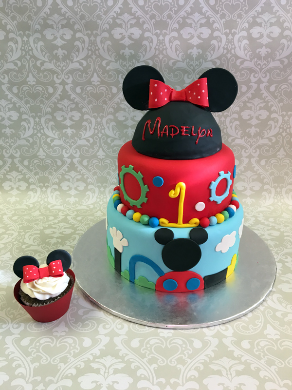 Mickey Mouse Hat Cake Topper Around The World In 80 Cakes
