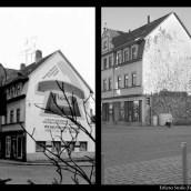 Erfurter Straße - Fassadenwerbung