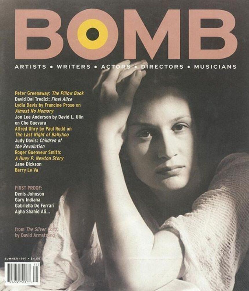judy davis bomb magazine