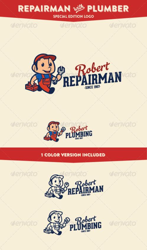 Logotipos para Empresas de Mantenimiento.