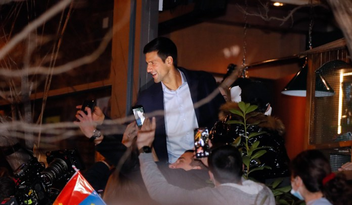 Fireworks and a street party as Belgrade honours its favourite son Novak  Djokovic after No 1 record - Tennis365