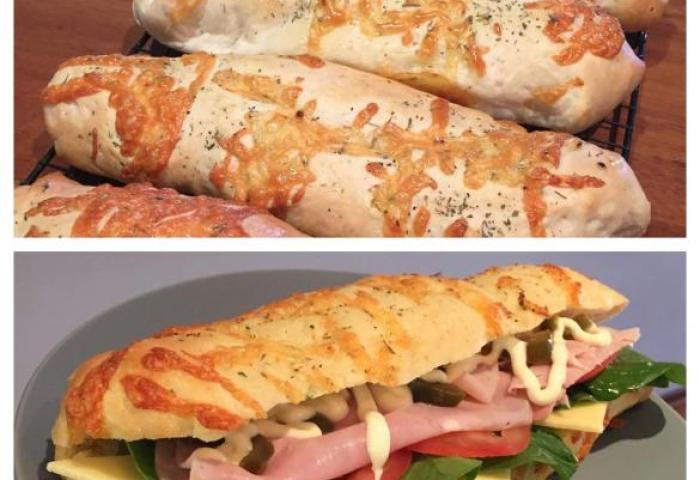 Clone Of Subway Bread Italian Herb Cheese By Lillozza A