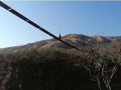 desafía a la gravedad y las alturas en el nuevo puente colgante de Santo Tomás en el edomex