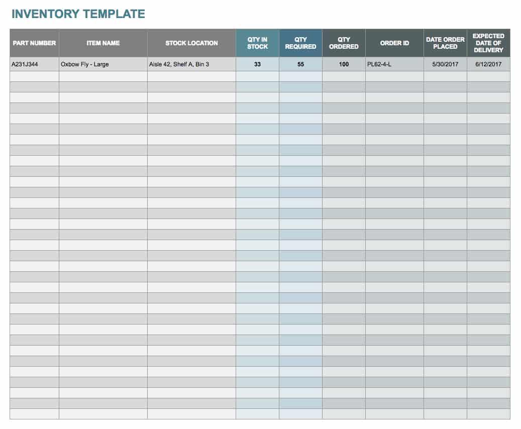 Free Docs And Spreadsheet Templates Smartsheet