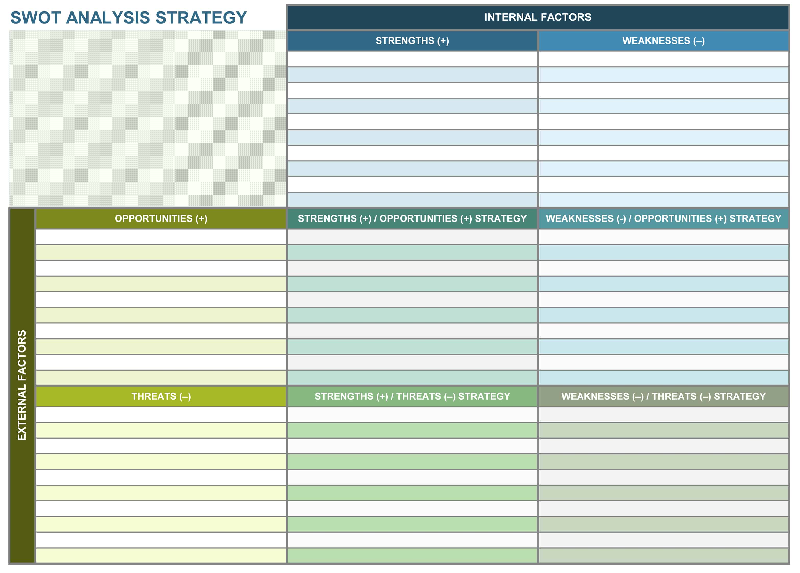 9 Free Strategic Planning Templates