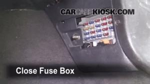 Interior Fuse Box Location: 19931998 Jeep Grand Cherokee  1998 Jeep Grand Cherokee TSi 40L 6 Cyl