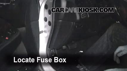 Interior Fuse Box Location 1999 2003 Acura Tl