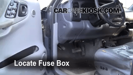 fuse panel 2004 dodge caravan enthusiast wiring diagrams u2022 rh rasalibre co 2014 dodge caravan fuse box location 2002 Dodge Caravan Fuse Panel