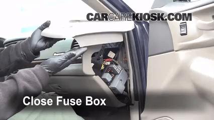Interior Fuse Box Location 2000 2005 Chevrolet Impala 2001 3 4l V6
