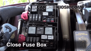 Blown Fuse Check 20002005 Chevrolet Monte Carlo  2001