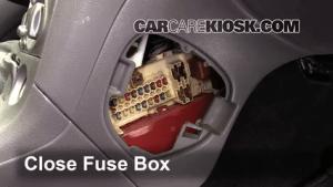 Interior Fuse Box Location: 20002005 Toyota Celica  2001