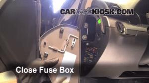 Interior Fuse Box Location: 20022008 Audi A4 Quattro  2002 Audi A4 Quattro 18L 4 Cyl Turbo