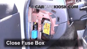 Interior Fuse Box Location: 19942003 Dodge Ram 1500 Van