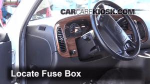 Interior Fuse Box Location: 19942003 Dodge Ram 1500 Van  2002 Dodge Ram 1500 Van 52L V8