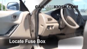 Interior Fuse Box Location: 19992003 Mitsubishi Galant  2002 Mitsubishi Galant ES 24L 4 Cyl
