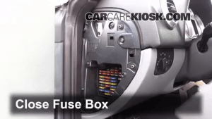 Interior Fuse Box Location: 20002006 Audi TT Quattro  2004 Audi TT Quattro 18L 4 Cyl Turbo