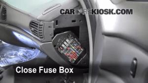 Interior Fuse Box Location: 19972005 Buick Century  2004 Buick Century Custom 31L V6