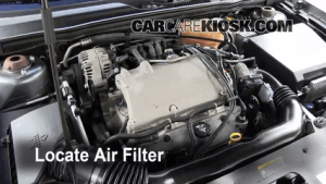 20042008 Chevrolet Malibu Engine Air Filter Check  2004
