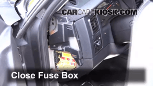 Interior Fuse Box Location: 19972004 Dodge Dakota  2004 Dodge Dakota Sport 37L V6 Crew Cab