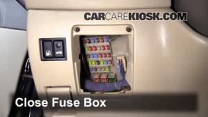 Interior Fuse Box Location: 20022006 Lexus ES330  2005
